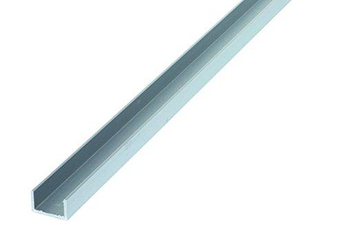 HSI 207860.0 U-Profile Aluminium 20x20x1,5mm /1m 1 St