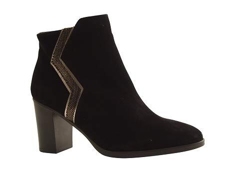 Reqins ETI - Chloe Peau - Boots - Noir