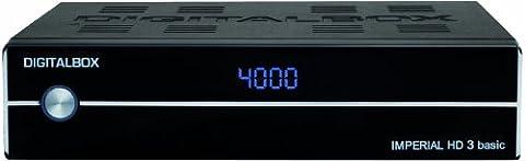 Imperial HD 3 basic digitaler HDTV-Satelliten-Receiver (HDMI, PVR Ready, USB 2.0) schwarz