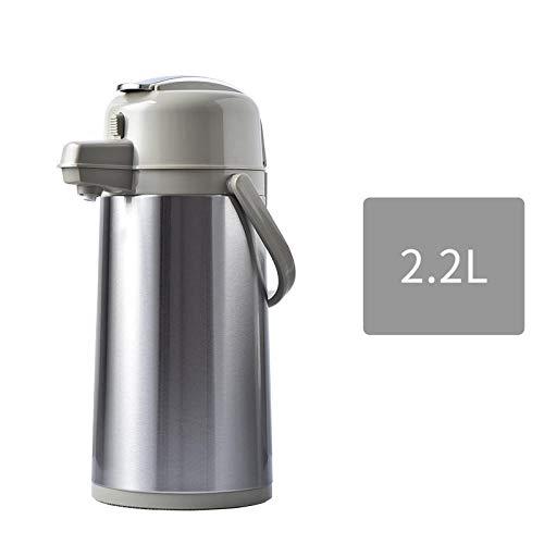 Jingyinyi Thermos per bollitore Pneumatico, Thermos in Acciaio Inossidabile, pressa per biberon, Resistente