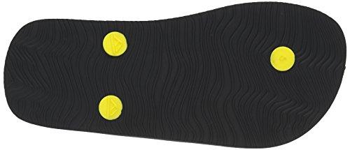 Reef Grom Switchfoot, Tongs Garçon Multicolore (Grey/Yellow Shark)