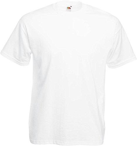 Fruit of the Loom Original Valueweight T Rundhals T-Shirt F140 5er 10er 15er 20er Pack 5x white