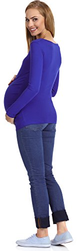 Be Mammy Maternité Sweat-shirt Femme 29 Bleuet