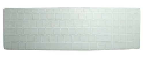 Saco Chiclet Keyboard Skin for HP 15-r032TX Notebook (Transparent)  available at amazon for Rs.300