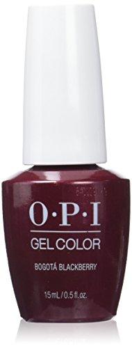 OPI gelcolor Nagellack ,bogota blackberry, 1er Pack (1 x 15 ml) 1 Blackberry