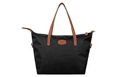 Ecosusi Women's Water Repellent Nylon Tote Bag Beach Bags