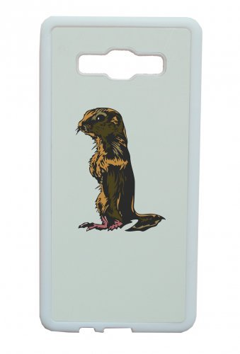 Smartphone Case Scoiattolo steht piccolo animale noce esser per Apple Iphone 4/4S, 5/5S, 5 C, 6/6S, 7 & Samsung Galaxy S4, S5, S6, S6 Edge, S7, S7 Edge Huawei HTC - Divertimento Motiv