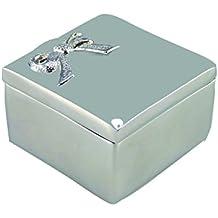 Aulica 341001nudo caja de joyas Argente 5,2x 5,2x 3,9cm)