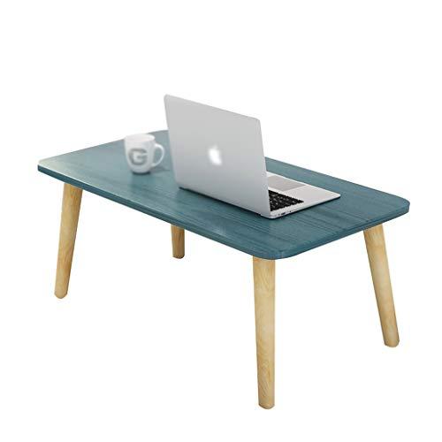 Table family CSQ Quadratisch-Computer-Schreibtisch, Bett-Behälter Tisch Schlafzimmer Wohnzimmer Sofatisch aus Holz Multifunktionales End Beistelltisch 50 * 30 * 32CM (Color : #4)