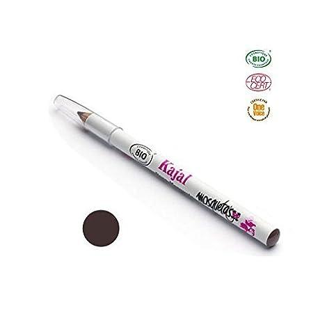Crayon Kajal bio Marron à la rose musquée