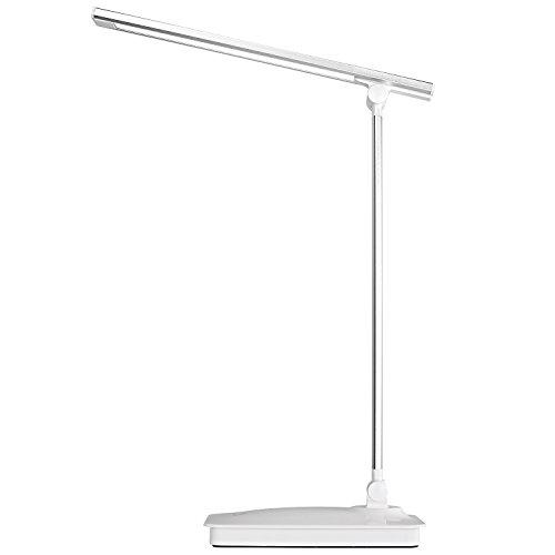 Fitfirst lampada da tavolo led regolabile 5v/1a lampada da tavolo usb ricaricabile 5 modalità luci colori 3 livelli di luminosità touch control
