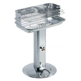 Barbecue acier inox - pro system Vénus - 60x36x89 cm