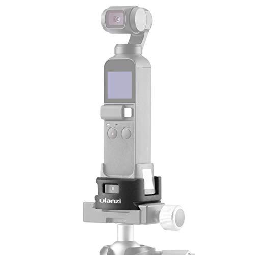 Leichtes Stativ,Dreibein Stativ, Stabilisator WiFi Mount Holder Base & Stativadapter für DJI OSMO Pocket Kamera (A)