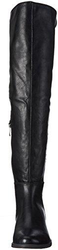 Marco Tozzi 25536, Bottes Hautes Femme Noir (BLACK ANTIC 002)