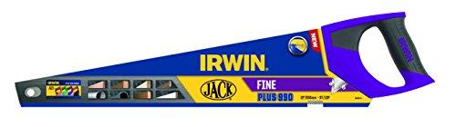 Irwin 1968123 Plus scie égoïne à denture fine 10 TPI 500 mm