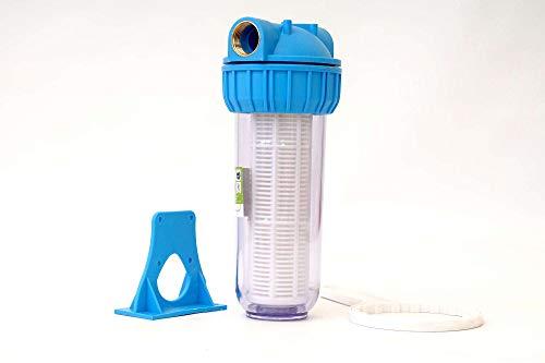 """A-CLASS 10\"""" Wasserfilter Vorfilter Schmutzfilter Pumpen Hauswasserwerke 4000 L/h 1\"""" Zoll"""