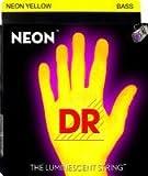 Neon Hi-Def Yellow Bass chitarra 4Corde 040–100/corde fluorescenti (giallo)