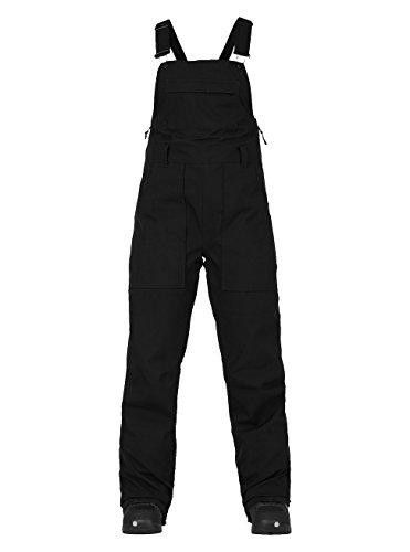 Burton Damen Avalon Bib Pant Snowboardhose, True Black, S