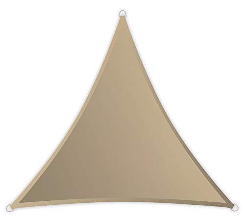 Windhager 10888 SunSail Riviera, Triangle, 3,6 m, Kaki