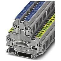 Phoenix UTTB 2.5-PE/N Gris - Electrical Terminal Block (5,2 mm, 69,9 mm, 500 V)