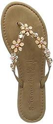 Tamaris Damen 1-1-27138-32 Pantoletten, Pink  (Rose Metallic 952), 39 EU