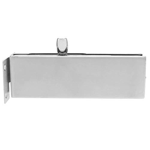 31ItBbkvmcL - PrimeMatik - Pernio y bisagra Fija Superior de Aluminio para Puerta de Cristal para cierrapuertas de Suelo