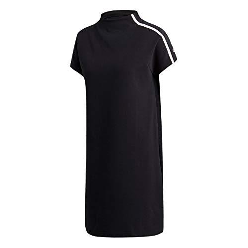 adidas Z.N.E. Longshirt Damen XS - 30/32 - T-shirt-kleid Mit Schlitzen