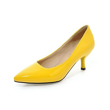 Talloni delle donne Primavera Estate Autunno Inverno Comfort similpelle Ufficio & Party Carriera & Evening Stiletto Heel Casual OthersBlack Blu Giallo Black