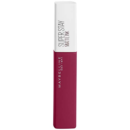 Maybelline New York Super Stay Matte Ink Pinks Lippenstift, 145 Front Runner, Rot, 26 G