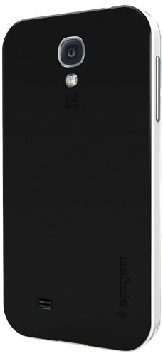Spigen SGP Case Protective Neo Hybrid Slim Fit Dual Protection Cover for Samsung Galaxy S4/S4 i9500 (Infinity White)