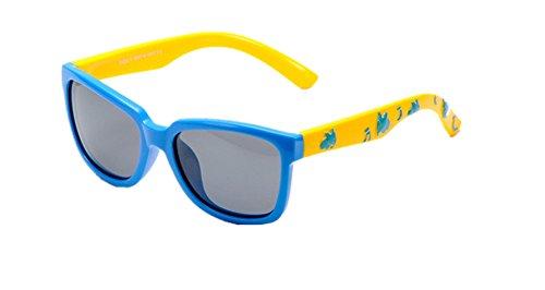 0f431d91d9 DAUCO Gafas de Sol niño y niña (4-12años) Rosa Marco Flexible Lentes