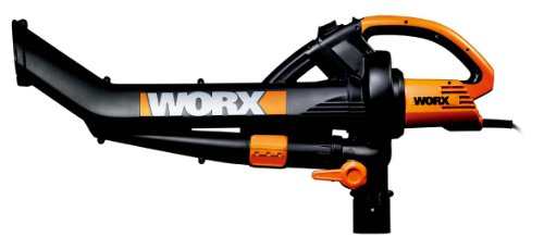 Worx WG501E 3000W Blower/ Mulcher and Vacuum with 7 Speed Settings Test