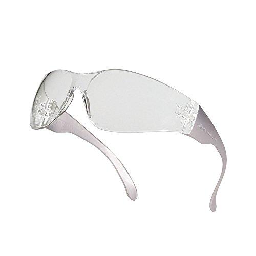Delta Plus Brava 2 Schutzbrille (Einheitsgröße) (Durchsichtig)