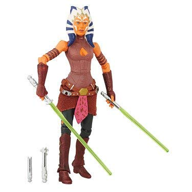 Star Wars, 2016 The Black Series, Ahsoka Tano Exclusive Action Figure, 3.75 Inches