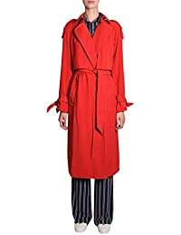 Michael By Michael Kors Trench Donna MH82HU86BZ887 Poliestere Rosso b8cbe9441b9