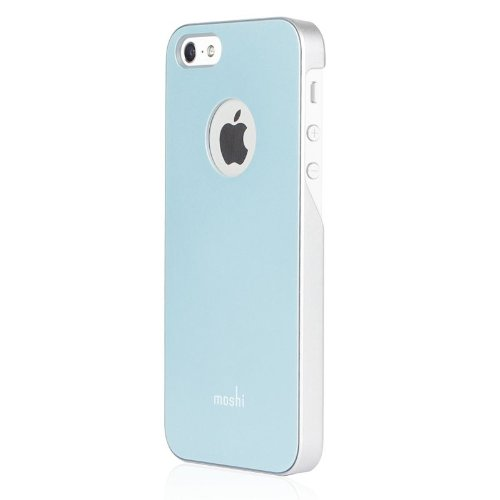 Moshi iGlaze Cover für Apple iPhone 5 blau