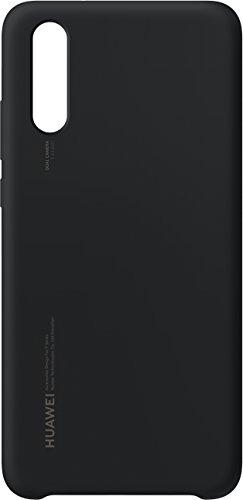 Huawei Silicon Cover (geeignet für P20) schwarz -