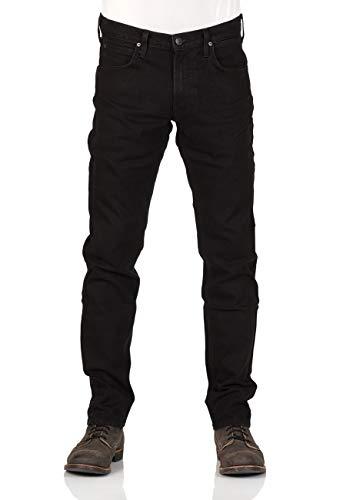 Lee Herren Relaxed Fit Jean (Lee Herren Jeans Daren Zip Fly - Regular Fit - Blau - Blue Worn - Zip Fly VF - Black Rinse, Größe:W 30 L 34, Farbe:Black Rinse (47))