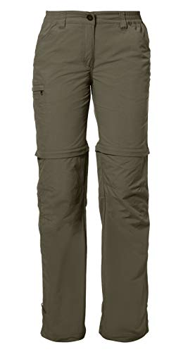 Vaude - Hose Women's Farley Zo Pants Iv - Pantalon - Femme - Vert (Tarn) - XXL
