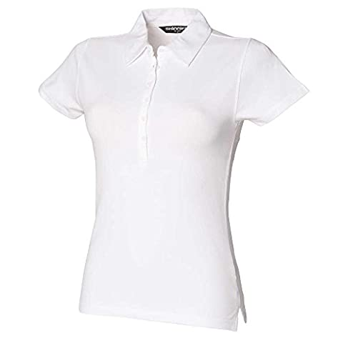 Skinni Fit Womens Short Sleeve Stretch Polo Shirts