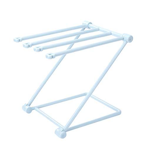 Lagerregal,Rifuli®Duschregal Regal Organizer Küche Bad Multifunktionale Handtuchhalter Aufhänger Zusammenklappbarer Kunststoffhalter