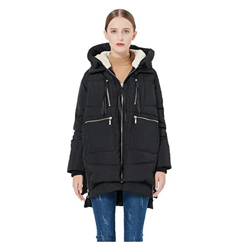 31ItiVrCwtL. SS500  - Orolay Women's Thickened Down Jacket