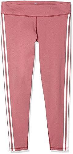 adidas Damen Believe This Regular-Rise Heather 3 Stripes Tight
