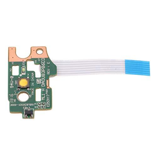 FLAMEER für HP Pavilion 14-N 15-N Series,Power Eject Button LED Board DA0R22PB6C0