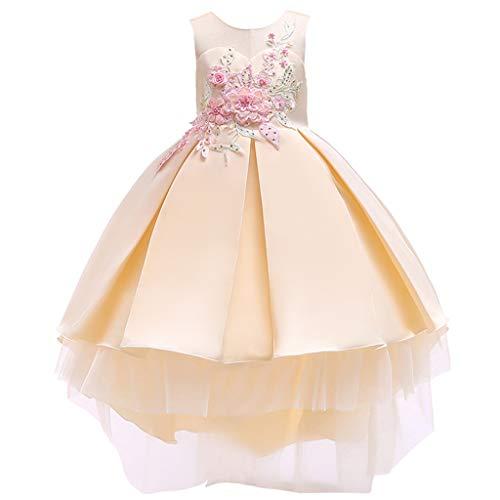 i-uend 2019 Mädchen Kleid - Baby Prinzessin Brautjungfer Pageant Kleid Geburtstag Party Hochzeitskleid Für 0-7 Jahre