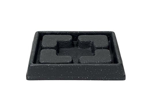 stewart-5134139-25-cm-square-decorative-saucer-granite