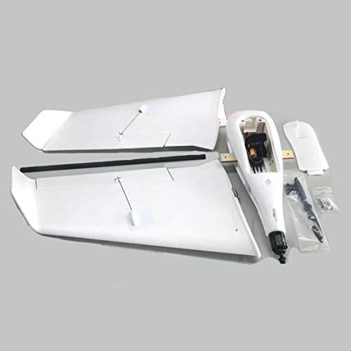 ZOHD SonicModell 833mm F1 EPP Envergure RC FPV Avion à voilure fixe Planeur avec bourdon Modèle à 190 km/h Version KIT haute vitesse (Couleur: blanc)