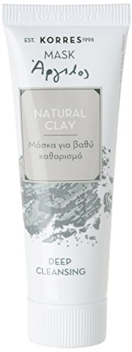 Korres Natural Clay Deep Cleansing Mask, 1er Pack (1 x 18 ml) -