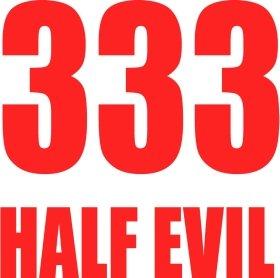 Mister Merchandise Tasche 333 Half Evil 666 Devil Stofftasche , Farbe: Schwarz Schwarz