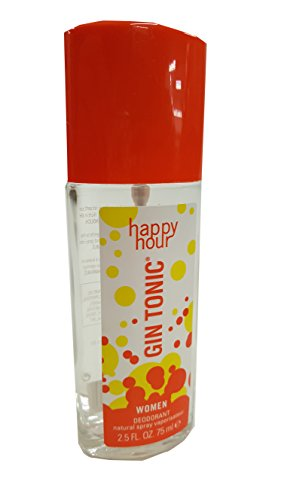 Opas Deodorant (Gin Tonic Happy Hour 75 ml Deodorant Spray in Glasflasche)